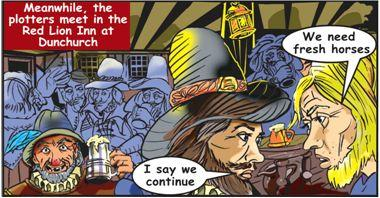 Extract from the Dunchurch comic